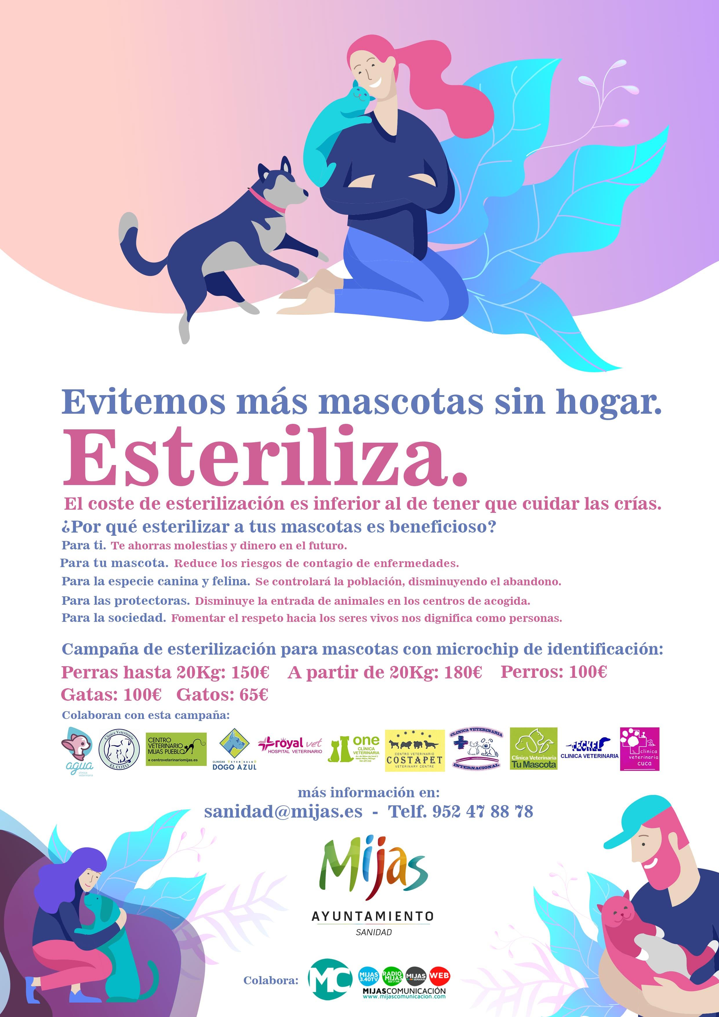 Campaña Esterilización Mascotas